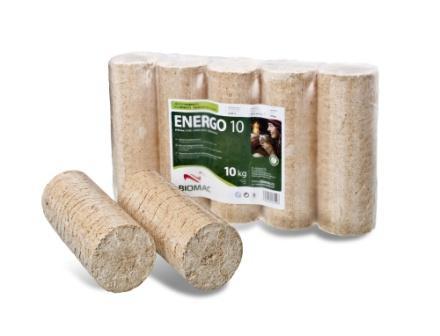 Dřevěné brikety Energo