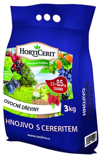 Hnojivo pro ovocné dřeviny 3kg