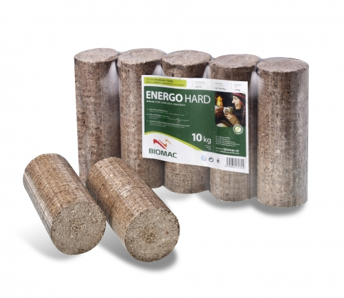 Dřevěné brikety EnergoHard